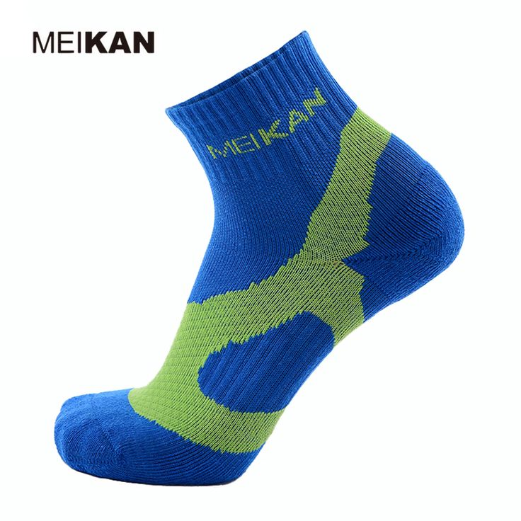 MEIKAN High Elasticity Professional Tennis Socks Sport Chaussette Cyclisme Breathable Wearable Calcetines Ciclismo