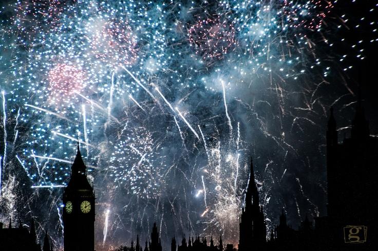 Big Ben London  NYE 2013