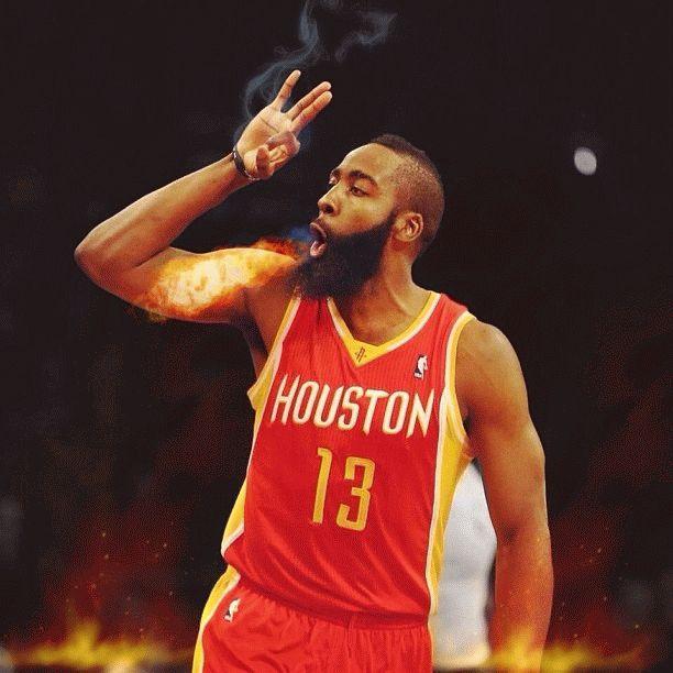Houston Rockets James Harden | NBA BASKETBALL LEGENDS ...