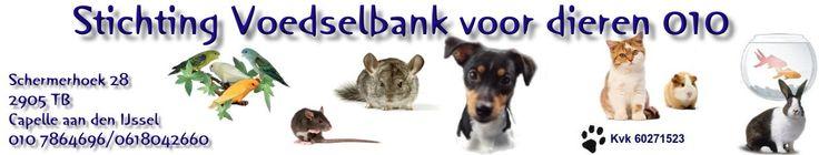 voorwaarden / aanmelden | Stichting Voedselbank voor dieren 010