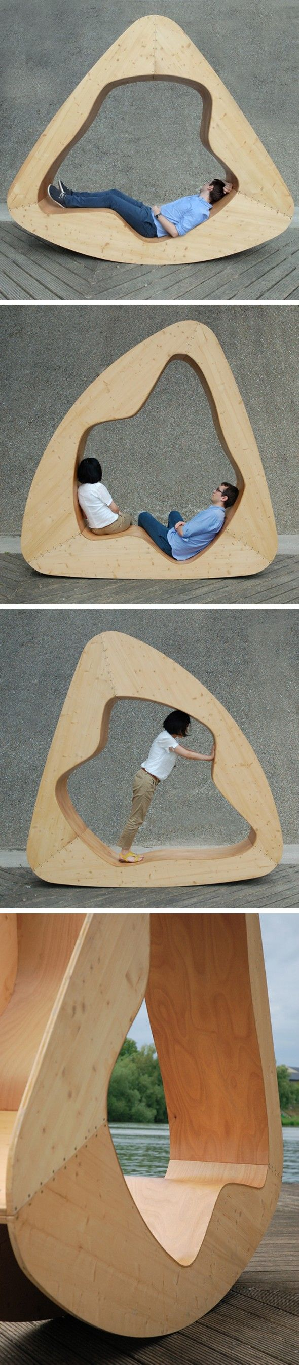 Curved comfort- limiting in terms of variations and table space Yuan Yuan - La maison nuage