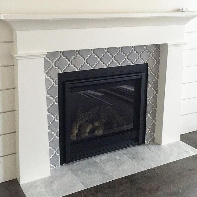 The 25+ best Tiled fireplace ideas on Pinterest ...