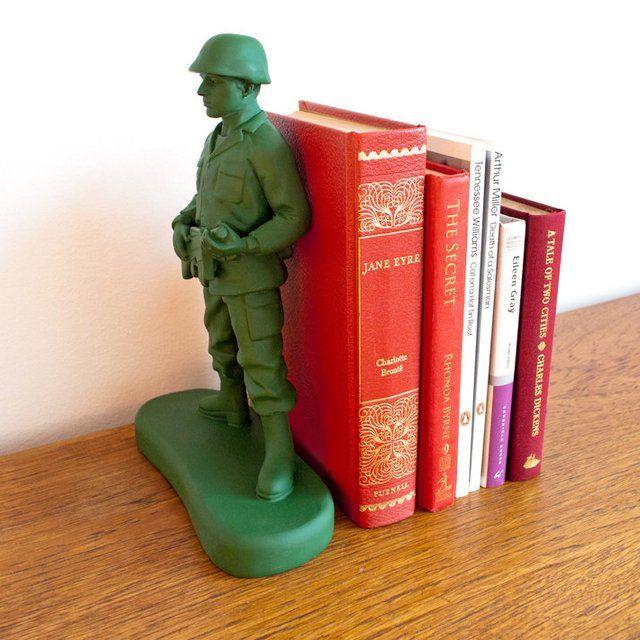 Home Guard Bookend #Bookend, #Decor, #Figurine