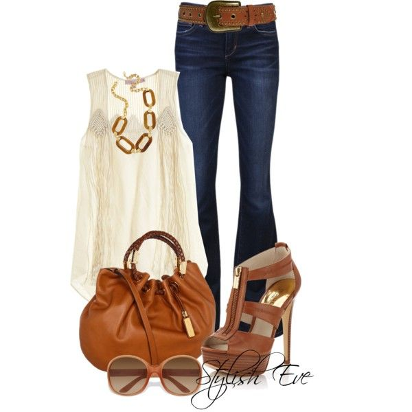 Nice & neutral; love the Michael Kors shoes
