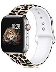 Zekapu Blumen Armband Kompatibel mit Apple Watch 3…