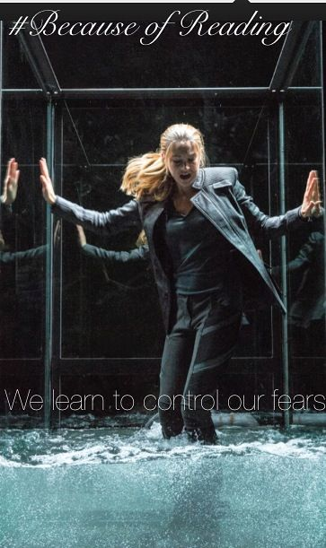 #because of reading #Divergent