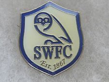 SHEFFIELD WEDNESDAY FC CHAMPIONSHIP LEAGUE FOOTBALL PIN BADGE