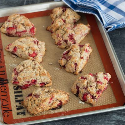 Strawberry Ricotta Scones | Desserts | Pinterest