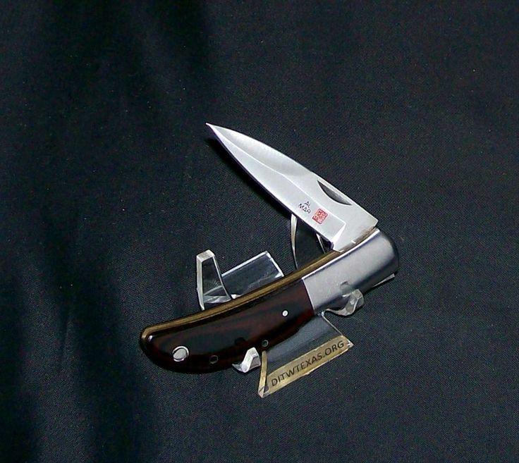 Al Mar Hawk Lockback Knife Classic Seki City Early 1980's