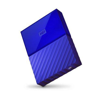 """WD My Passport disco duro portátil 4TB (2.5"""", USB 3.0), azul por 122 €  El disco duro portátil My Passport puede almacenar la inmensa cantidad de #fotografías, #vídeos y #música que le encantan.    #Almacenamiento #datos #informatica #Pc #chollos"""