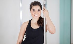 Groupon - Three or Six Fitness Classes at Pretty Lady Pole Fit (Up to 50% Off)  in Multiple Locations. Groupon deal price: $25