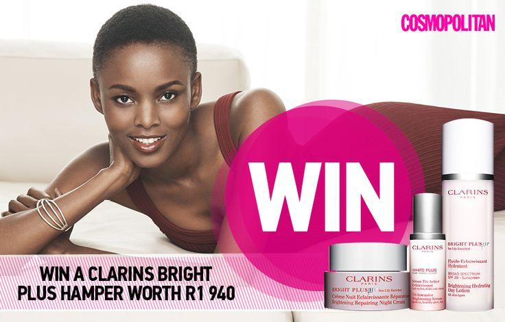WIN+1+of+6+Clarins+Bright+Plus+Hampers+Worth+R1+940