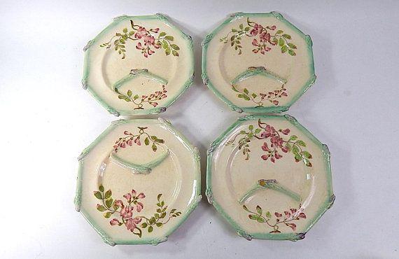 Dollhouse Miniature Porcelain Gravy Bowl with Raised Floral Design