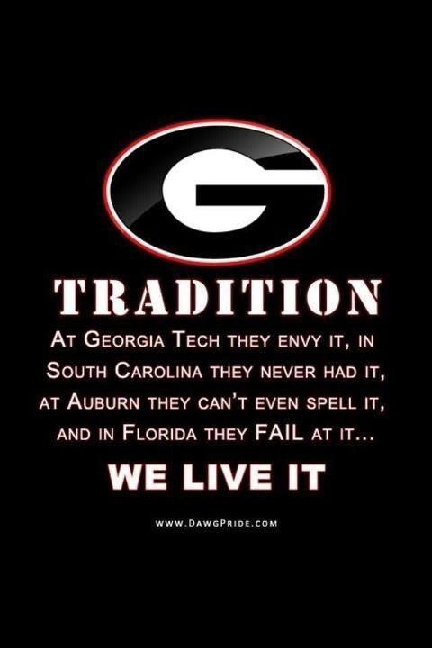 GEORGIA - Love my Dawgs!