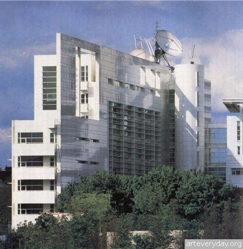 Richard_Meier_10 | Richard Meier - Ричард Мейер. Ведущий представитель американского авангарда. Книга содержит большое количество фотографий, представлены чертежи планов, фасадов и разрезов | ARTeveryday.org