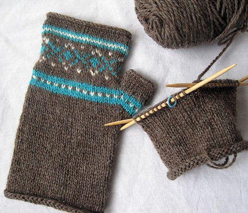 24 best fair isle knitting images on Pinterest