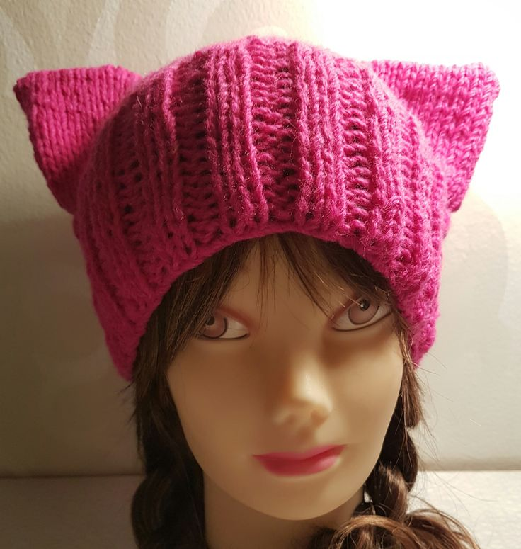 Puzzyhat Pyzzy cat hat kattmössa Free pattern Zgarn http://zgarn.se/index.php?route=product/product&path=65_74&product_id=189