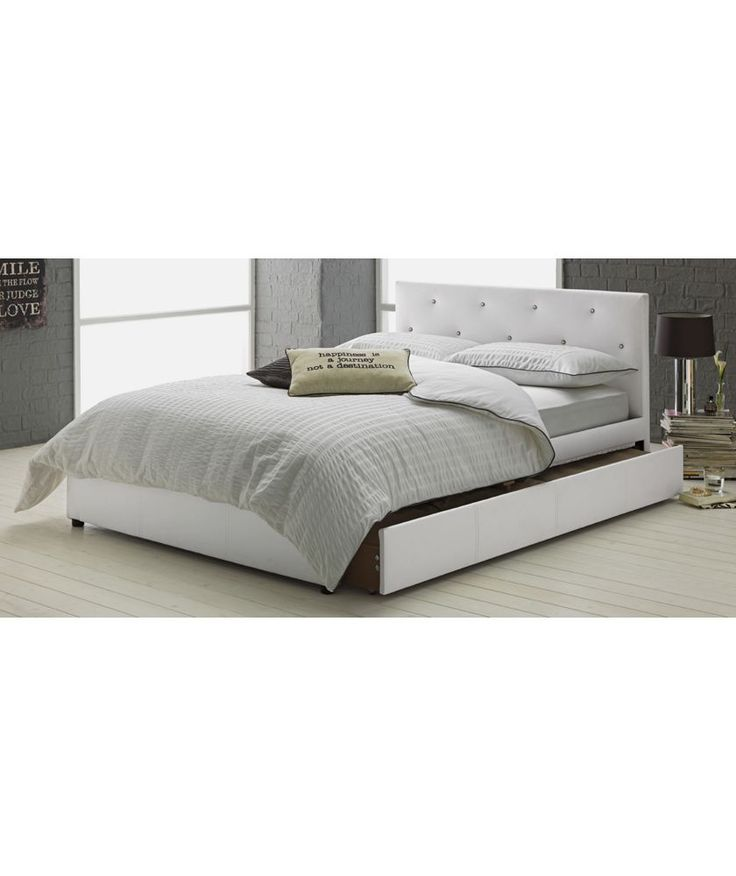 Buy Hygena Imelda Small Double Bed Frame - White at Argos.co.uk - Your Online Shop for Bed frames.