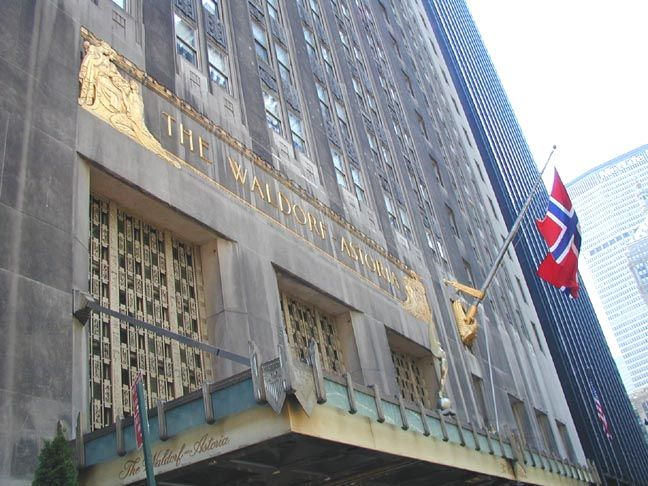 Waldorf Astoria, NYC