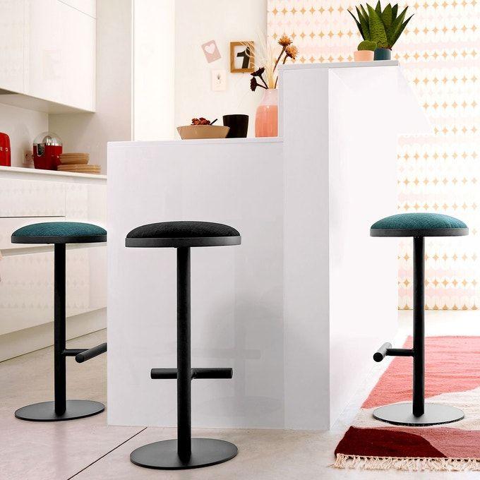 Tabouret De Bar Mi Hauteur Tabou En 2020 Tabouret De Bar Decoration Maison Meuble Deco