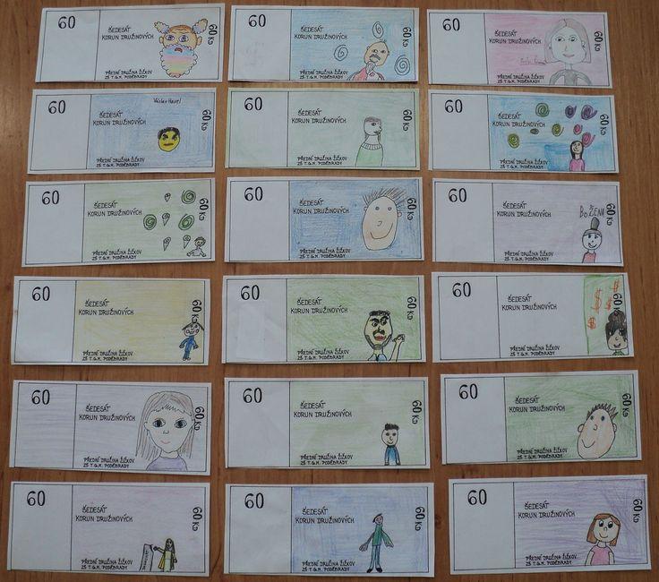 Finanční gramotnost - Návrh družinové bankovky