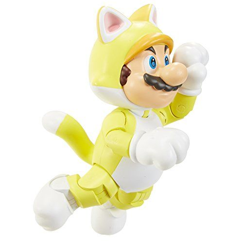 NINTENDO World of Nintendo Cat Mario with Bell Action Figure, 4 by Nintendo: Cet article NINTENDO World of Nintendo Cat Mario with Bell…