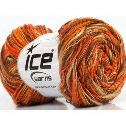 Flamme Color fonal narancs-camel-barna