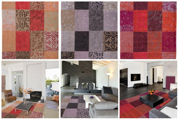 De nieuwe vintage kelim vloerkleden van Louis de Poortere. Collectie 2015. Bestel nu bij vloerkledenwinkel http://bit.ly/1Cg3CCU