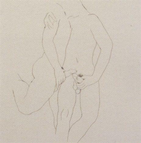 L'embrassade by Jean Cocteau
