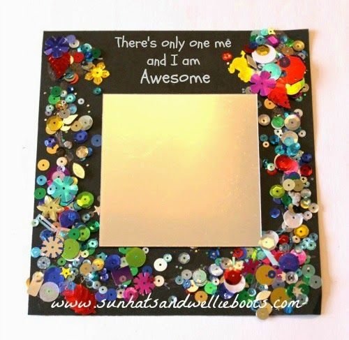 Sun Hats & Wellie Boots: Affirmation Mirrors for Kids - Encouraging Positive Thinking & Building Self-Confidence