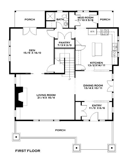 Entry Foyer Floor Plan : Best images about home design plans on pinterest