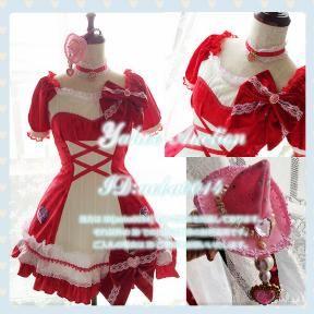 魔法使いプリキュア!◆キュアミラクル◆ルビー コスプレ衣装