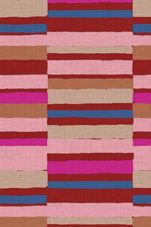 Caravan Stripe In Reds By Domesticate
