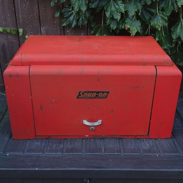 Vintage Rare Genuine 1940 S Snap On K60 Tool Box Quot The Holy