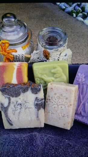 Bettina's natural soaps upstairs at old petrie town near (grandmas nursery)