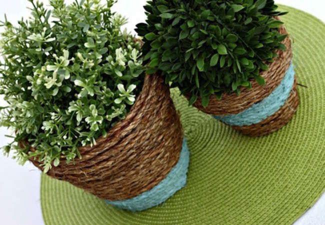 10 Outdoor DIYs you can do for a dollar #diy http://www.bobvila.com/slideshow/10-outdoor-diys-you-can-do-for-a-dollar-49930?slide_name=diy-mirror&