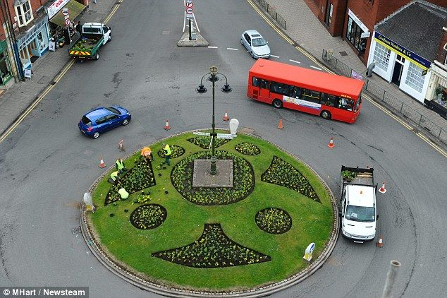 traffic island design - Google Search