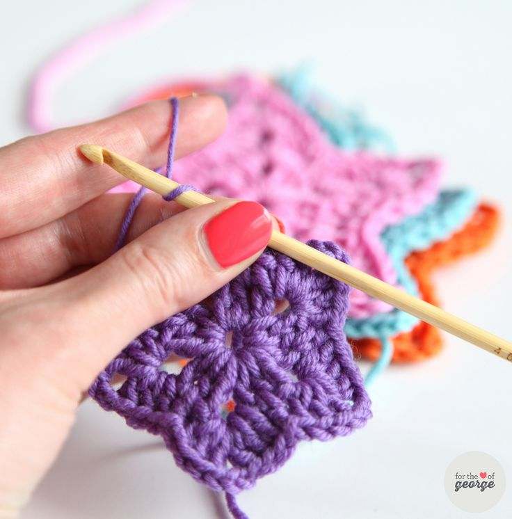 Crochet Stars, tutorial