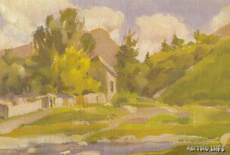 Облака над городом. 1933 (Тимирев)