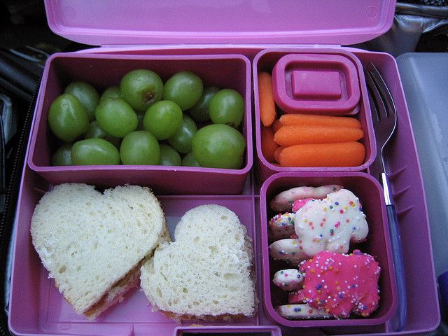 A fun lunch for the kiddos!