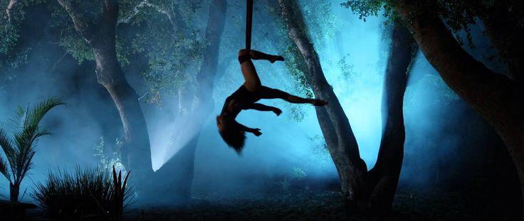 Amazing aerial dance.            Selkie Hom - Aerial Dancer | Upon A Dream - Lana Del Rey | Aerial Hammoc...