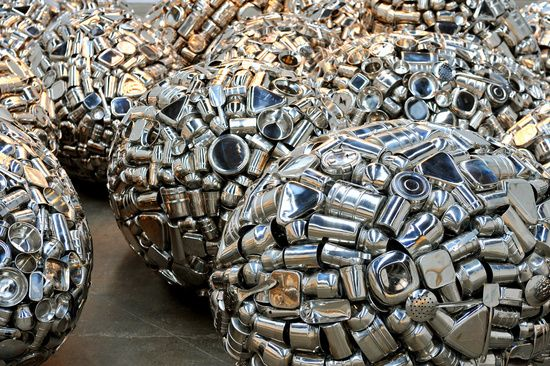 Subodh Gupta Take off your shoes and wash your hands