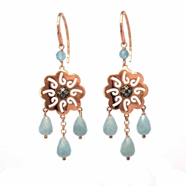 $54.90 Gilded silver earrings