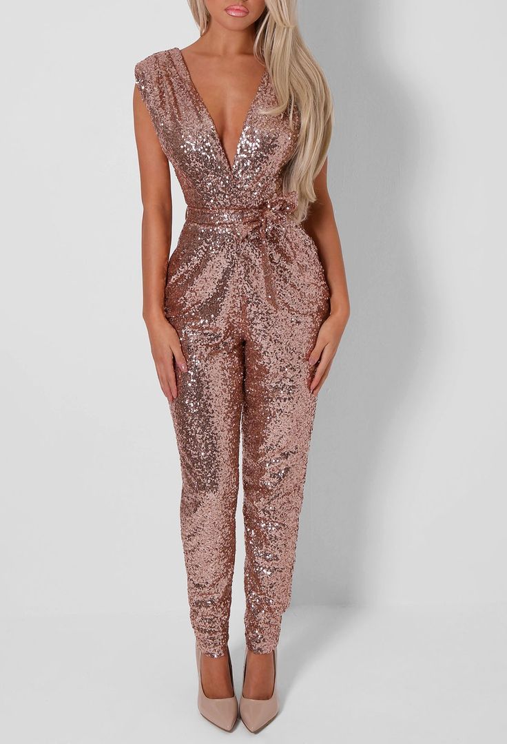 Best 25  Gold jumpsuits ideas on Pinterest | Sparkly jumpsuit ...