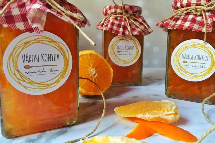 A legfinomabb narancslekvár: egy kis vajjal és croissannt-nal mennyei