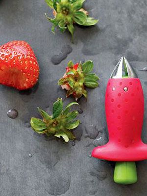 Strawberry fans will love this little huller. #cooking #fruit #strawberries: Cooking Gadgets, Strawberries Huller, Gifts Ideas, Food, Chefn Strawberries, Kitchens Gadgets, Chef N Strawberries, Kitchens Tools, Products