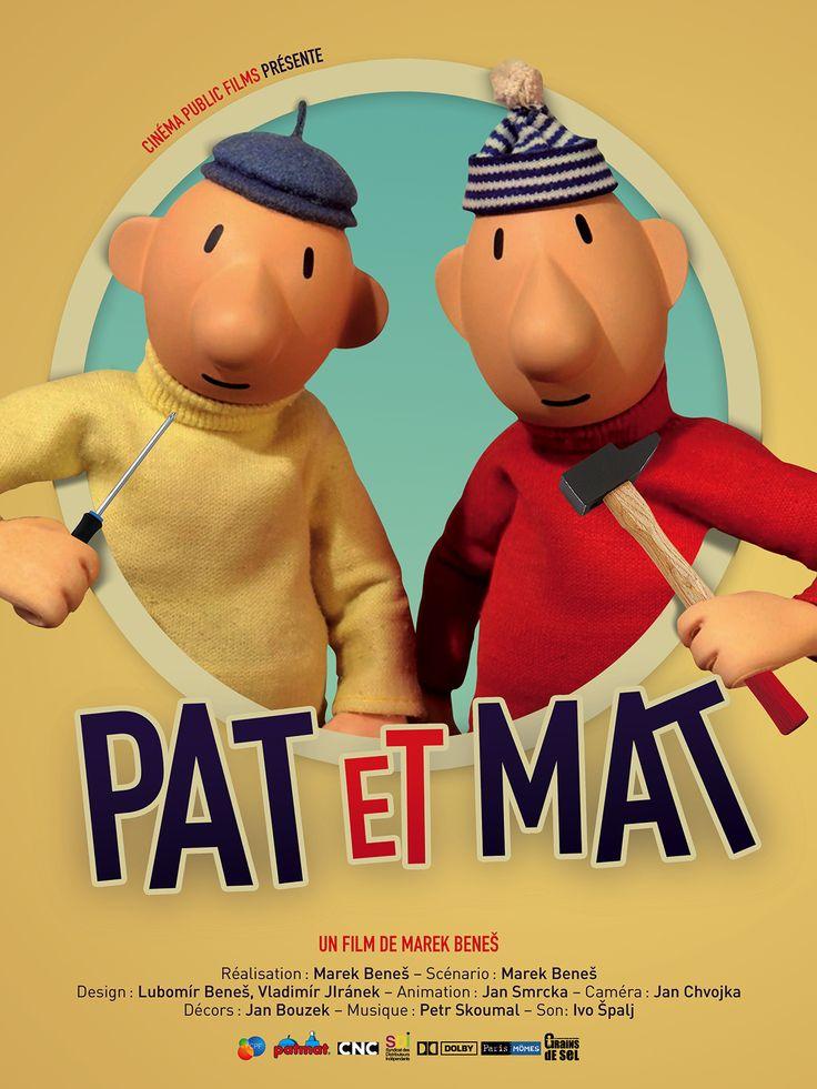 Pat et Mat de Marek Beneš - Projeté dans le cadre de la Fête du cinéma d'animation à Vaux-sur-Seine le 22 octobre 2017