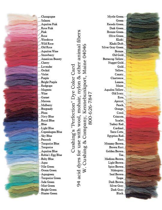 Dyeing Nylon See 8