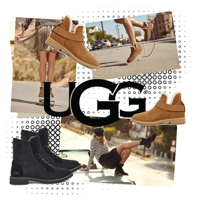 """""""The New Classics With UGG: Contest Entry"""" by kharismabelle on Polyvore featuring UGG"""