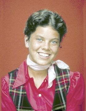 """Erin Moran played Joanie Cunningham, the daughter of Howard and Marion, and Richie's younger sister. Moran continued the role in 1982 in the short-lived spin-off series """"Joanie Loves Chachi,"""" alongside Scott Baio. After """"Joanie Loves Chachi"""" was cancelled in 1983, she returned to """"Happy Days"""" for its final season."""